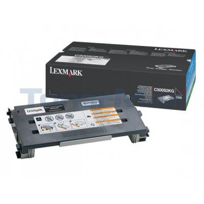 LEXMARK X500 X502 TONER CARTRIDE BLACK 2.5K